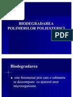 BIODEGRADAREA POLIMERILOR POLIESTERICI1