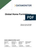 Data Monitor Global Home Furnishings 2007