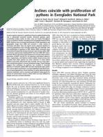 Dorcas Et Al - 2012 - Impacts of Pythons on Mammals - PNAS