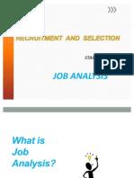 Job Analysis OA Fundamental