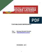 Apostila de Contabilidade rial 2011