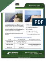 Shoreline Stabilization Breakwater Geotextile Tubes