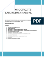 Electronics Circuits Laboratory Manual