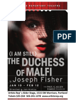 (I Am Still) The Duchess of Malfi