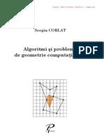 Algoritmi şi probleme geometrie computationala