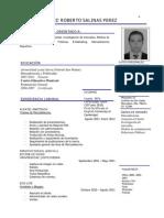 David Salinas Curriculum