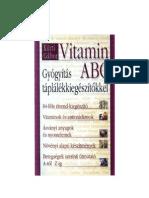 Kürti gábor-Vitamin ABC-Gyógyítás táplálékiegészítökkel