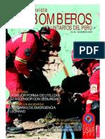 Revista BOMBEROS VOLUNTARIOS DEL PERÚ, Nº 46, Diciembre 2009