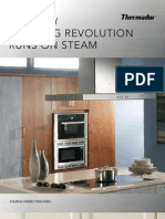 Thermador Sales Folder Steam Convection Oven