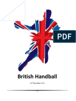 British Handball Sponsorship Proposal
