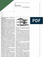 La Escuela o Arquitectura Versus Estructuras