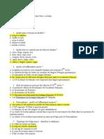 Exam Blanc Linguistique