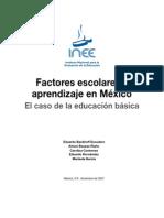 Factores Escolares y Aprendizaje