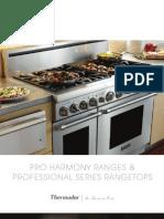 Thermador Pro Harmony Cook Brochure