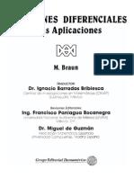 Ecuaciones Diferenciales y Sus Aplicaciones (M. Braun, 1990)