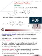 20) Complexometric Titration