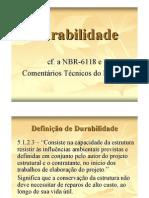 durabilidadeconformeaNBR-6118