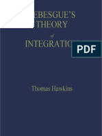 Lebesgue's Theory of Integration_ Its Origins and Development