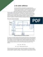 Producción de ácido sulfúrico (1)