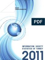 Turkish Information Society Statistics 2011