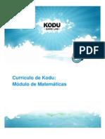 Currículo Kodu Módulo Matemáticas