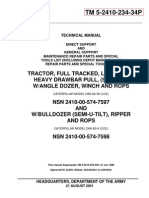 Caterpillar D8K Tractor Serial 77V5006-UP Parts Catalog TM-5-2410-234-34P
