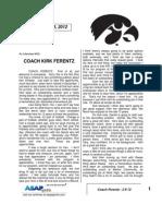 Coach Ferentz - 2 8 12