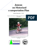1997 Non-Motorized Transportation Plan for Juneau
