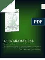 GUÍA GRAMATICAL INGLES IV 2012-A