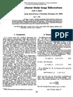 Louis J. Zapas- Viscoelastic Behavior Under Large Deformations