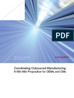 Coordinated Outsourced Manufacturing