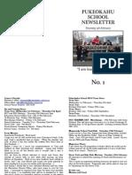 Pukeokahu Newsletter No. 1