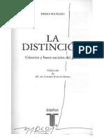 13 Bourdieu-La distinción (Tercera Parte-Capítulo 7)