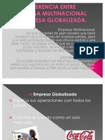 Diferencia Entre Empresa Multinacional y Empresa Globalizada