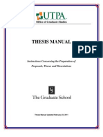 Thesis - Dissertation Guide