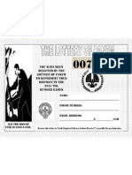 Hunger Games Lottery Ticket