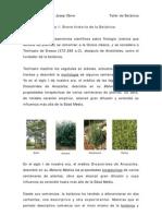 Breve Historia de La Botanica
