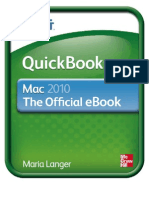 Quick Books 2010 for Mac eBook