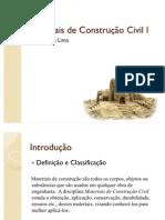 Materiais+de+Construção+Civil+I