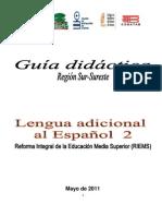 Guía Didáctica de Inglés II