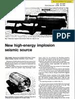 Felix Avedik and Robert Combe- New high-energy implosion seismic source