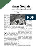 Deleuze e a Sociologia da Tecnologia - máquinas sociais