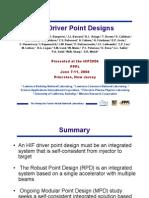 S.S. Yu et al- HIF Driver Point Designs