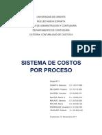 1. Sistema de Costos Por Procesos.