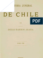 Barros Arana- Historia de Chile 8