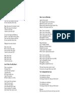 English Mass Songs
