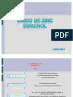 Oxido de Zinc Eugenol