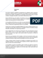 Boletín de actividades 8 de febrero de 2012