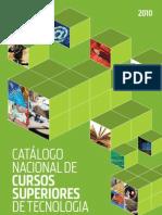 Catalogo Nacioanl Cursos Superiores Tecnologia 2010