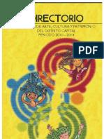 directorio sitema  distrital  de  cultura  y  patrimonio